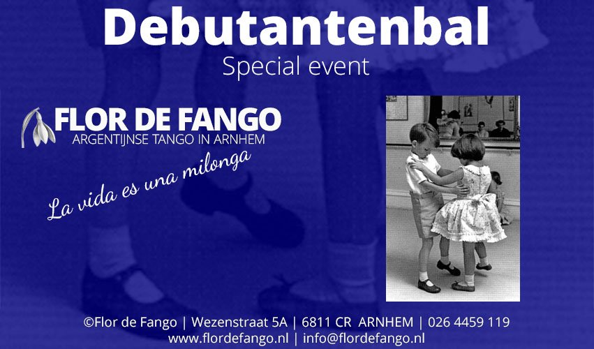 ZA 17 NOV – Debutantenbal & Workshop Ezequiel & Karin