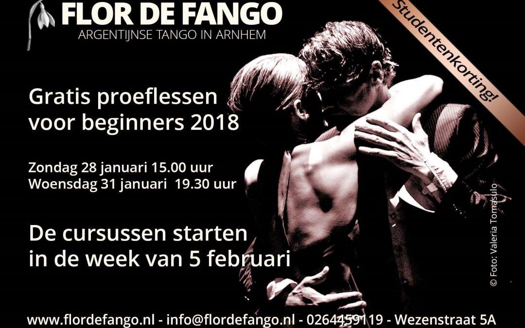 Gratis Proeflessen Argentijnse Tango