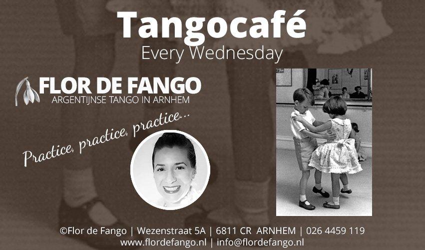 WO 15 MEI – Tangocafé | oefenavond – DJ Christa