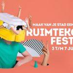Aankondiging Ruimtekoers Festival 2019