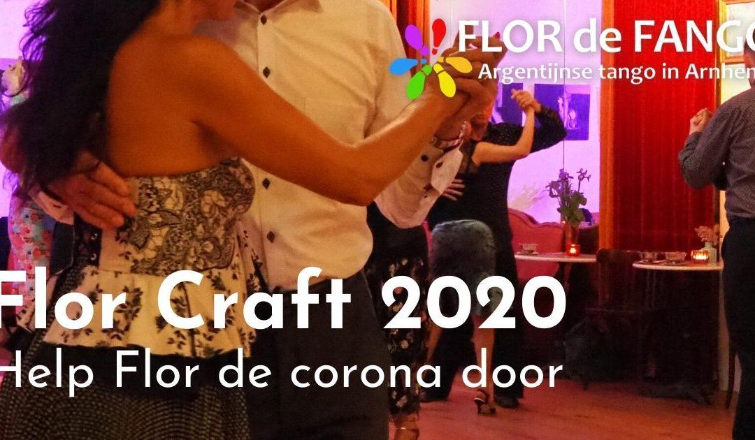 Flor craft 2020, help Flor de Corona door