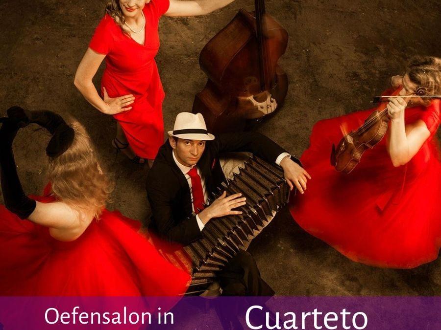 Oefenavond met Cuarteto Rotterdam – Filmavond – DJ El Huracán
