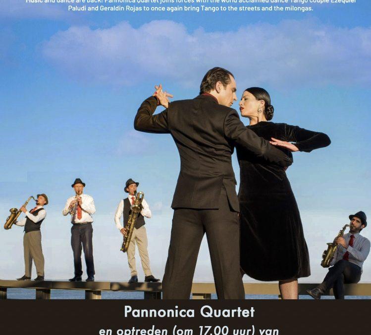 ZO 26 SEP – Live! Air For Tango: Pannonica Quartet en show van Geraldine Rojas en Ezequiel Paludi – DJ Christoph Ronecker
